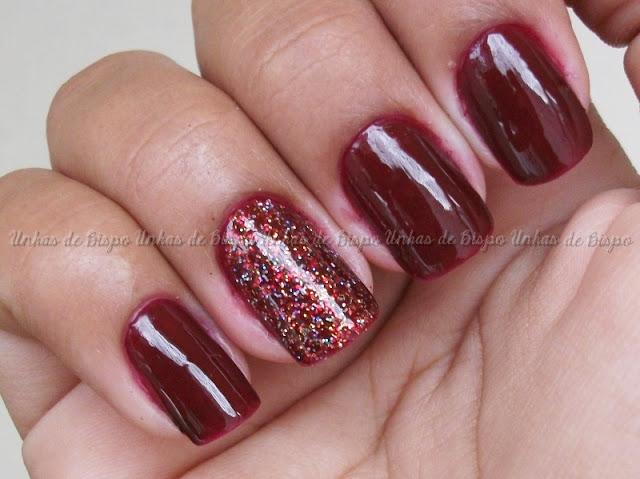 Sedução - 5cinco + Sparkling Red - Mavala