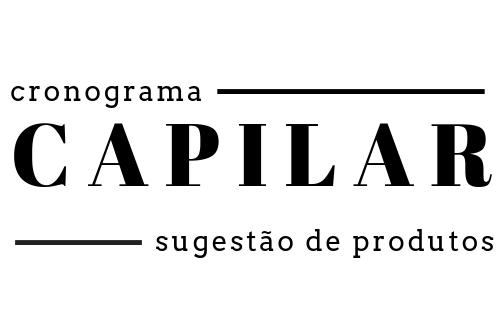 Cronograma Capilar: sugestão de produtos