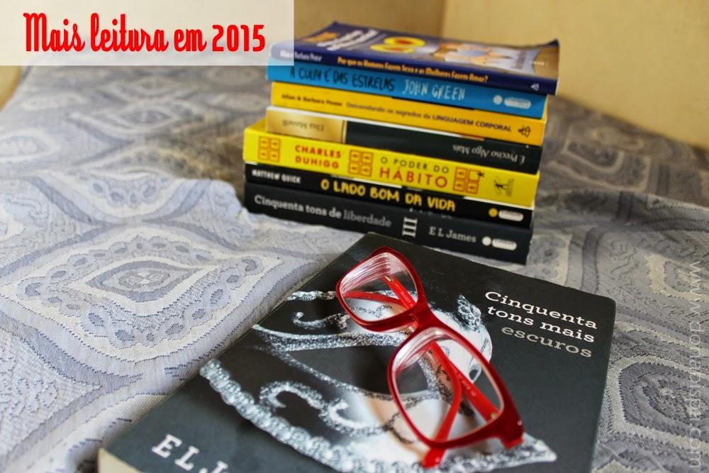 2015 com mais leitura