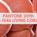 PANTONE 2019: 16-1546 Living Coral
