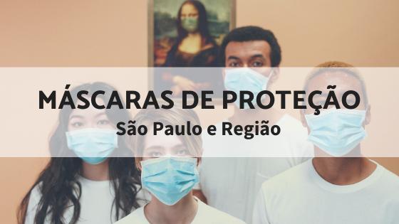 Máscaras de proteção em SP e região