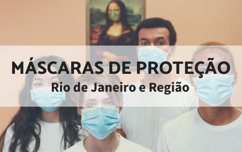 Máscaras de proteção no RJ e região